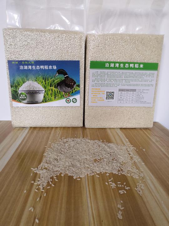 生态鸭稻米,2019年有机新米