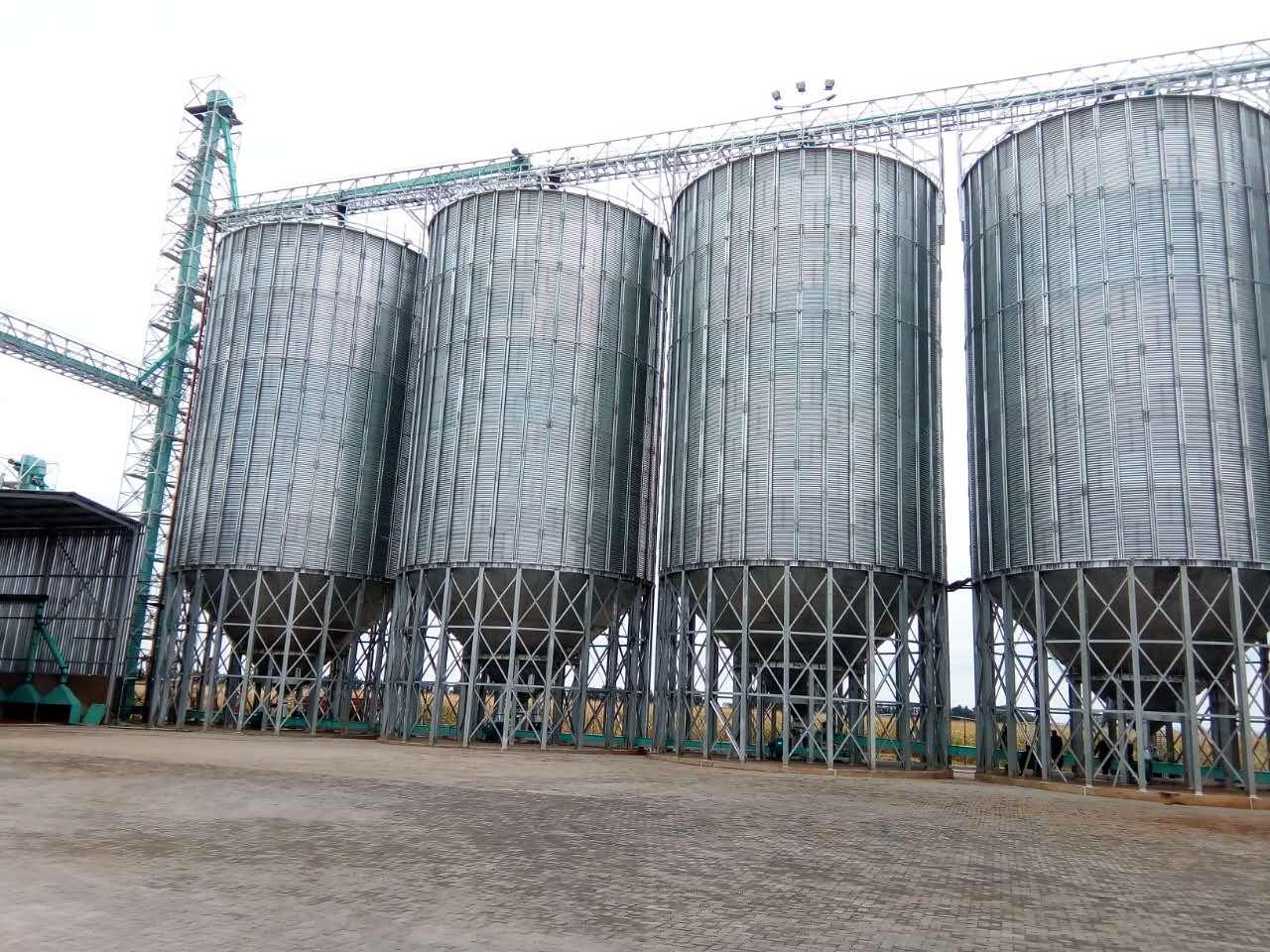 粮食加工企业常用粮食钢板仓